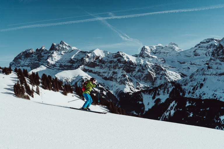 Where is skiing popular?